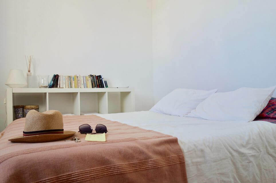 short term rental bed
