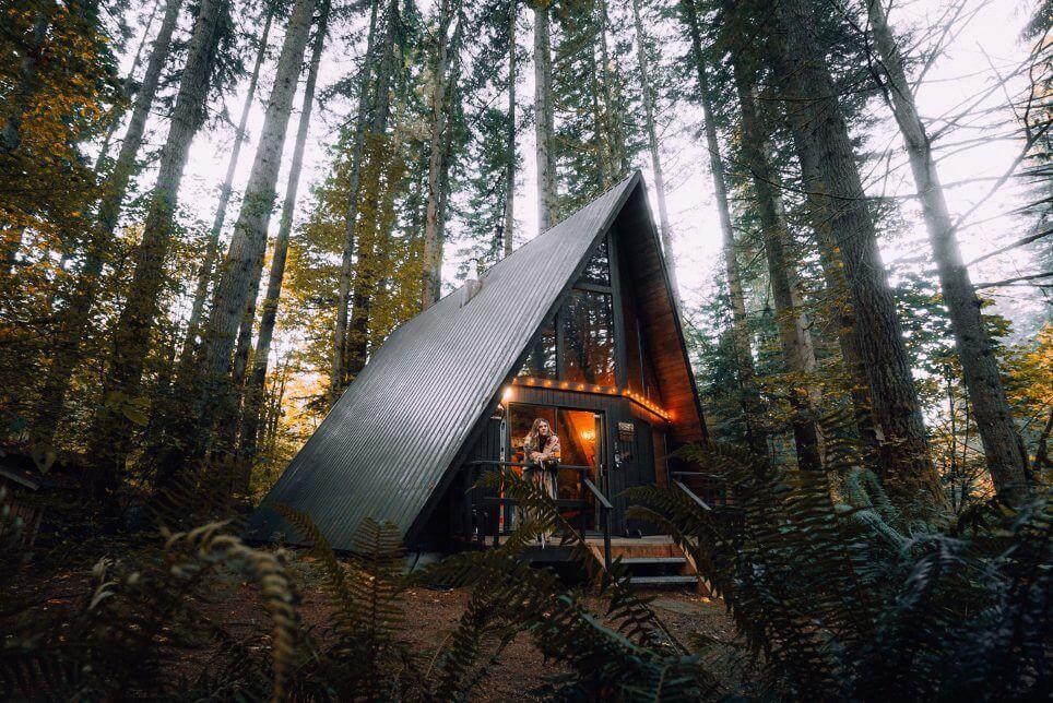 short term rental in a tent
