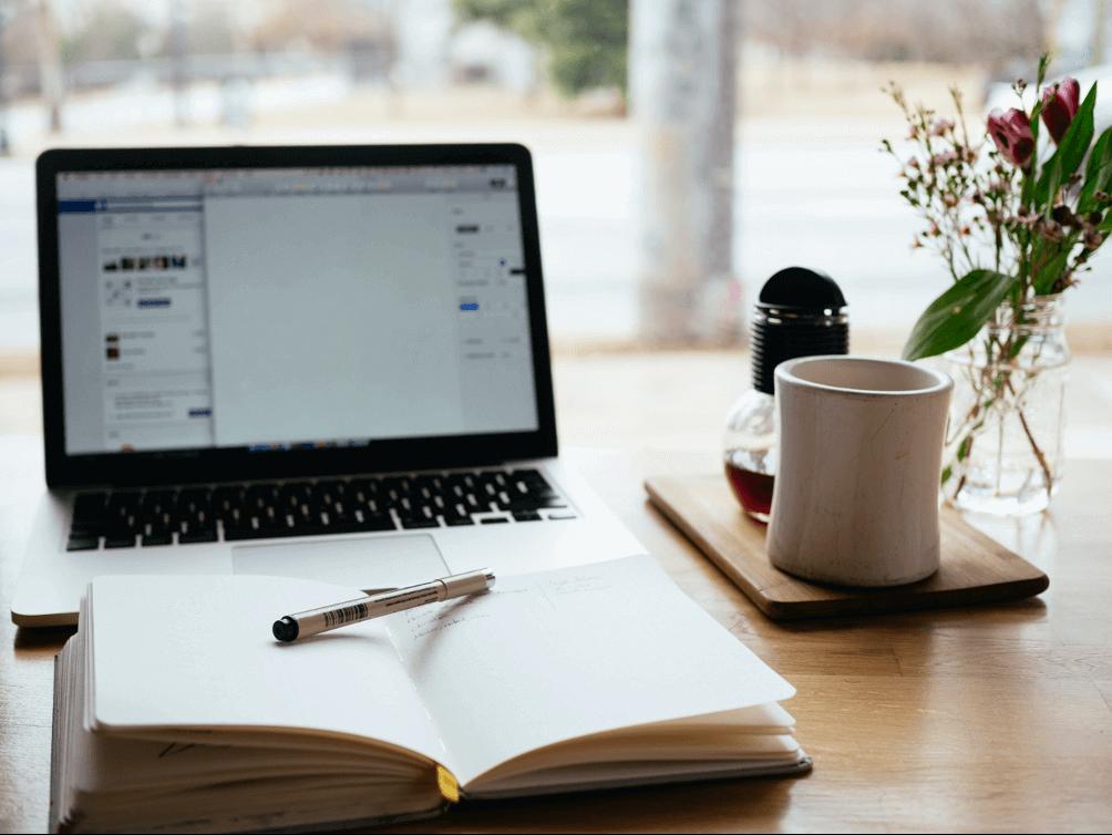 Desktop and Notebook Open: Let's Get Started!