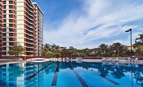 swimming pool condo facilities